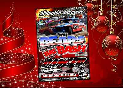 The Bears Big Bash (2016) DVD Banger Racing Signed by Nutty Nige & Ash Riley