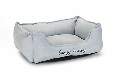 Beeztees Comfy Cat Rest Bed 37Cm Grey Pet Comfort Comfortable New UK SELLER