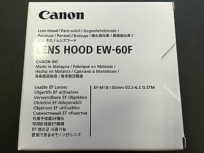 New Canon Lens Hood L-HOODEW-60F EW-60F 1379C001 EF-M EF-M18-150ISSTM from JAPAN