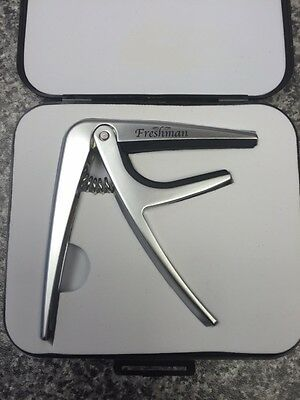 Freshman Guitar Trigger Capo With Case For Electric and Acoustic