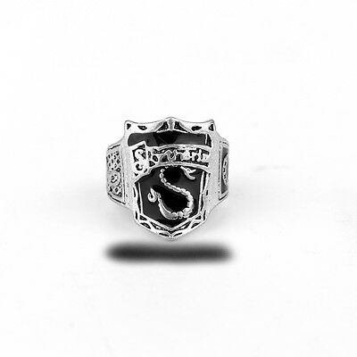 Anello Ring Harry Potter Draco Malfoy Cosplay Slytherin Serpeverde Voldemort #2