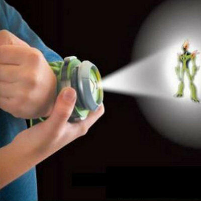 Bandai Ben10 Projector Watch Watches Toy Ben 10 Projector Birthday Gifts Kids