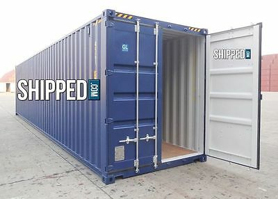 40FT HIGH CUBE CERTIFIED NEW ONE TRIP STEEL SHIPPING CONTAINER in PORTLAND, OR