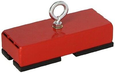 "Master Magnetics Heavy-Duty Retrieving and Holding Magnet, 5"" Length, 2"" Width,"