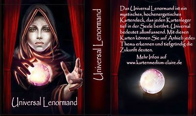 Universal Lenormand new Tarot Oracle Cards Oracle Cards Deck of Cards