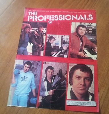 Jackie Magazine Lewis Collins The Professonials Full Page Article / Photos