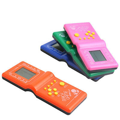 LCD Game Electronic Vintage Classic Tetris Brick Handheld Arcade Pocket Toys