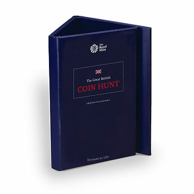 The Royal Mint Great British Coin Hunt £1 Album (Collector's Edition)-CA1P15A