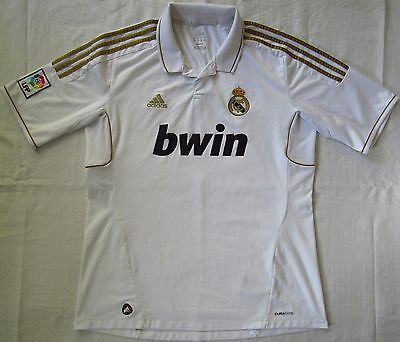 Real Madrid Spain 2011/2012 Home Football Shirt Jersey Camiseta Adidas