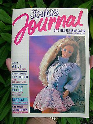 #7 German Barbie Journal Booklet 1989 64 Pages European Specials