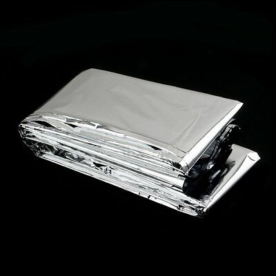New Outdoor Water Proof Emergency Survival Rescue Blanket Foil Thermal Space Fir