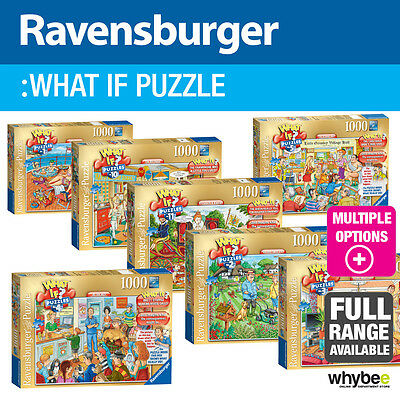 Ravensburger What If? Adult Jigsaw Puzzles - 13 designs to choose from!