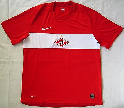 Spartak Moscow Russia 2009 Home Football Shirt Jersey Nike