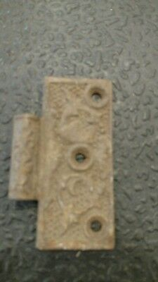 Old Antique Victorian Vintage 1/2  Of A Steeple Tip Door Hinge Part Hardware