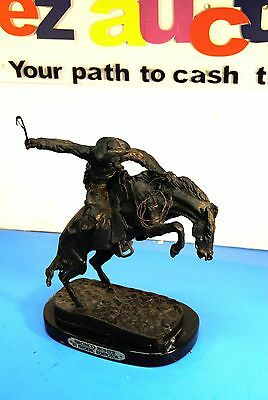 Bronco Buster By Frederic Remington Bronze Reissue