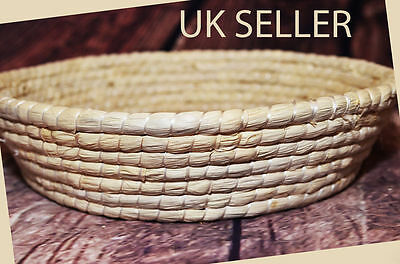 Woven Baby Newborn Oval Round Soft Basket 0 - 12 Months Photo Photography Prop