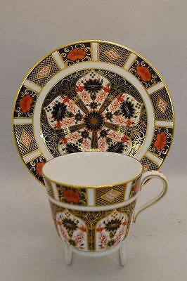Lovely Royal Crown Derby 1128 Old Imari Cup and Saucer Immaculate