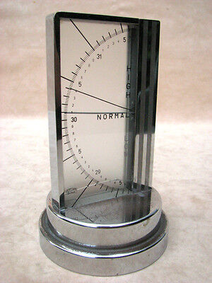 Rare ZEISS IKON, BERLIN, 1930's Art Deco table barometer