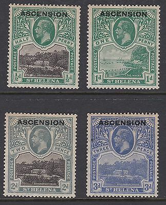 Ascension 1922 Overprint selection to 3d ~ MINT ~