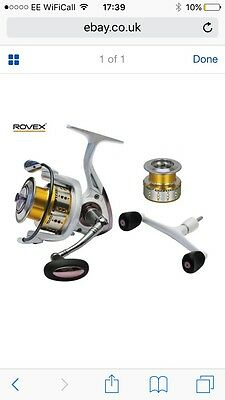 Rovex Ceratec Ct4 Fd 4000 Reel Sea Coarse Fishing Pike Lure Bass Spinning
