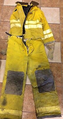 Yellow Turn Out Gear, Jacket & Pants