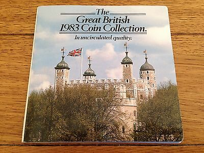 The Great British Coin Collection 1983 In Uncirculated Quality
