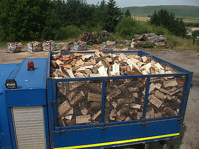 Firewood Logs  Seasoned 10 Cubic Metre Load Hardwood  Free Delivery