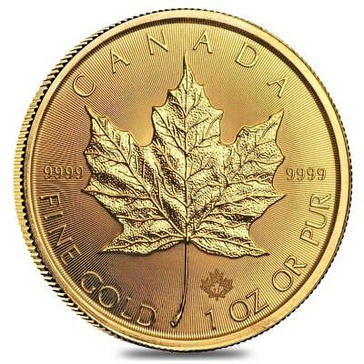 2017 1 oz Canadian Gold Maple Leaf $50 Coin .9999 Fine BU