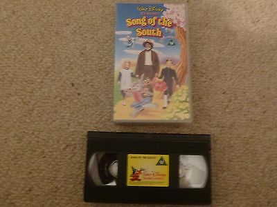 Song Of The South VHS Video Cassette 2000 Live Action Animated - Walt Disney