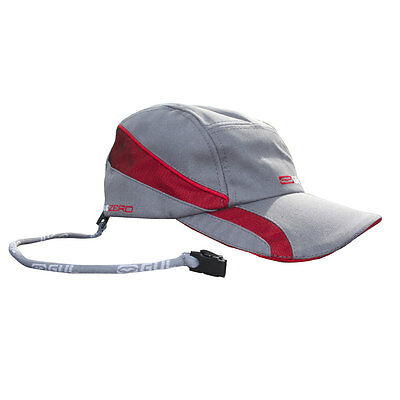 Gul Quick Dry Sailing Cap 2017 - Silver/Red