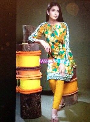 ORIGINAL KHAADI ,2PC SUIT BNWT COTTEN TAILOR STITCHED Lovely Material