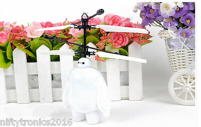 Big Hero Flying Auto-Sensor Remote Control Mini RC Helicopter Gift for kid