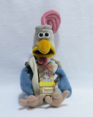 Chicken Run Soft Toy With Tag - Fowler