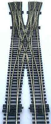 Peco based Double Crossover Scissor Crossing with 2 double slips OO gauge