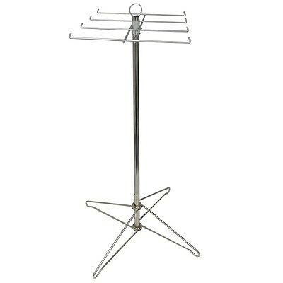 """Floor Spinner Retail Display Rack FREE SHIP 8-Prong Rotor Sign Holder ~43"""" tall"""