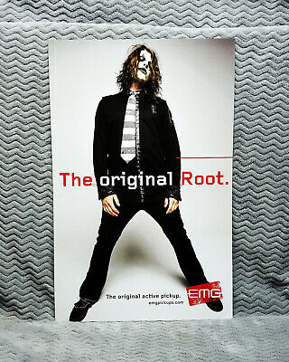 Slipknot *Jim Root* EMG Promo Poster<<>>RARE<<>>Slipknot