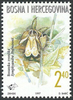 Bosnia Herzegovina, 1997, croatian post, (#39) - Endemic Plants