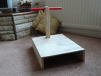 SPECIAL Spanking furniture T-bar - Punishment Positioning Stand   (cane)
