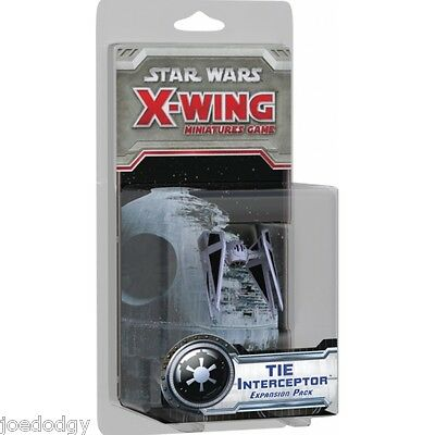 Star Wars X-Wing Expansion Pack - TIE Interceptor - Brand New in Pack