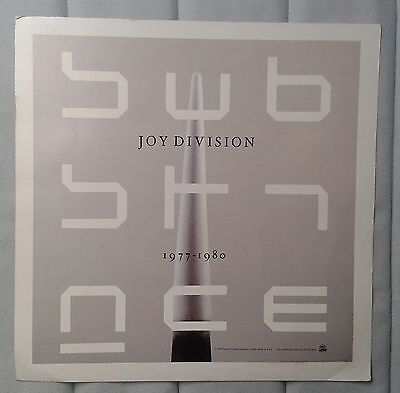 Joy Division  Substance  LP  Official Promo double sided poster Factory New Orde