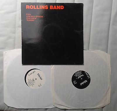 """Rollins Band Fool double 12"""" Promo Henry Black Flag"""