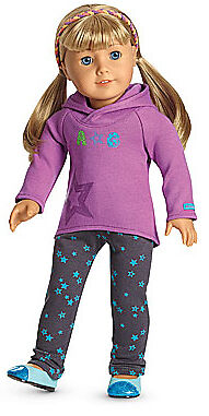 Authentic American Girl Doll Starry Hoodie Outfit NIB Perfect Gift