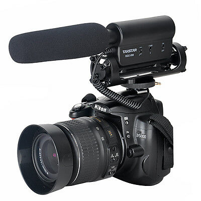 SGC-598 Photography Interview Microphone Hotography Video Mic For DV DSLR Camera