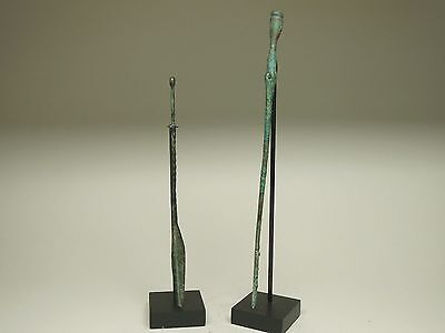 Pair Of Roman Bronze Implements