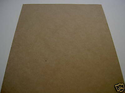 30 Sheets Recycled Brown Paper Card A4   200gsm