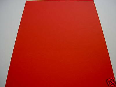 Red  Paper  Card A4 200gsm 25 sheets