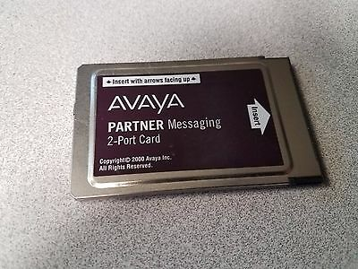 Avaya 2 Port Voicemail Messaging Card 90 Day Warranty