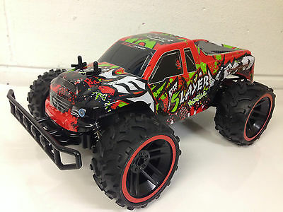 LARGE MONSTER TRUCK 2.4GHz RADIO REMOTE CONTROL CAR 1/12 OFF ROAD 20KM/H SPEED