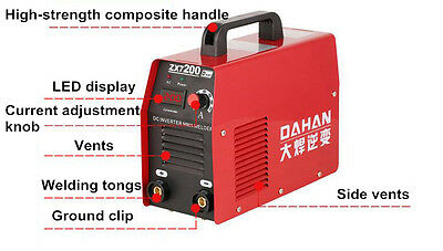 Mini Size Household Inverter DC Electric Welding Machine 220V