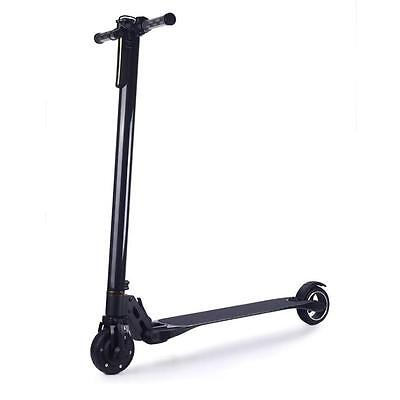 Portable Key Folding Multifunction Electronic Display Electric Scooter Black NEW